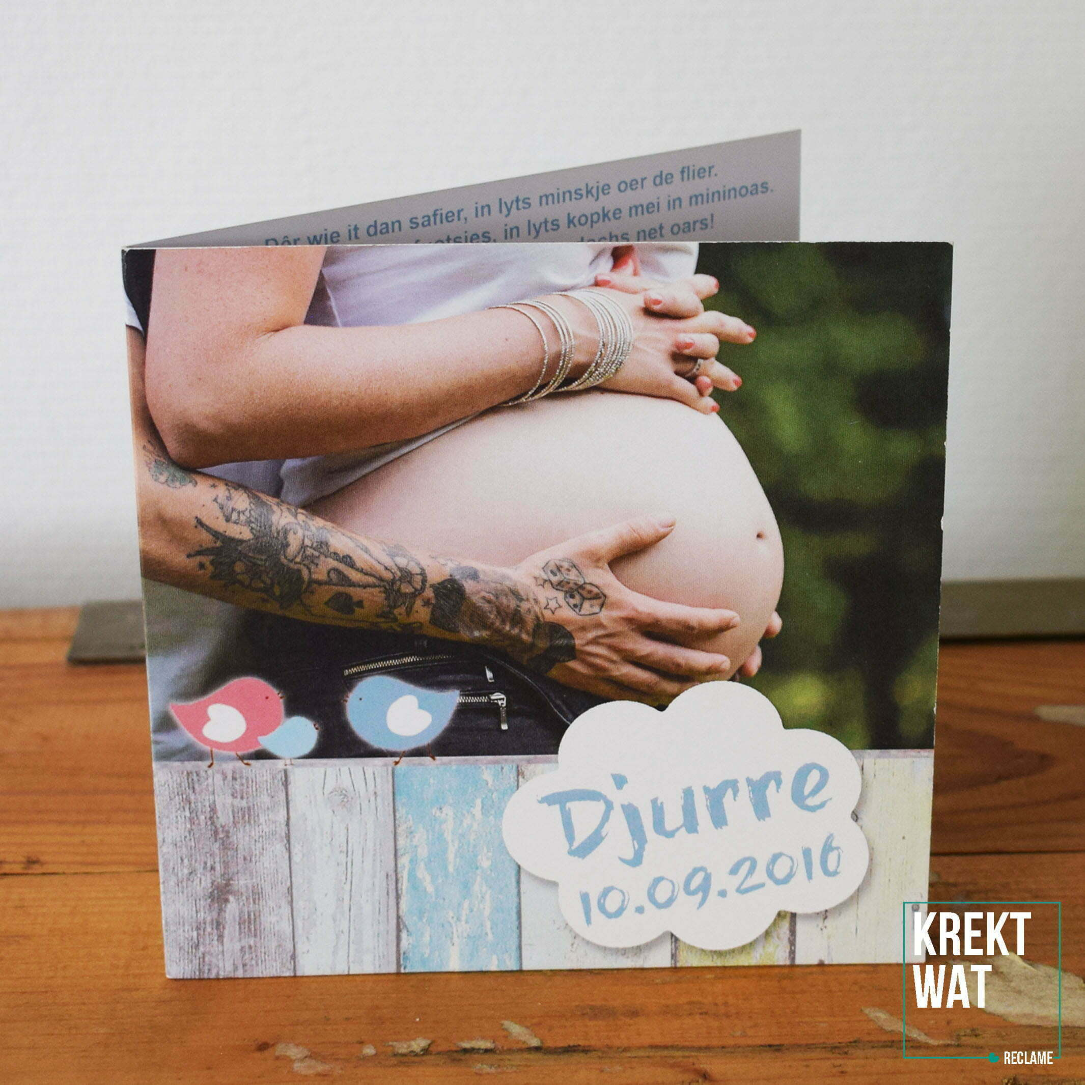 Geboortekaartje - Djurre