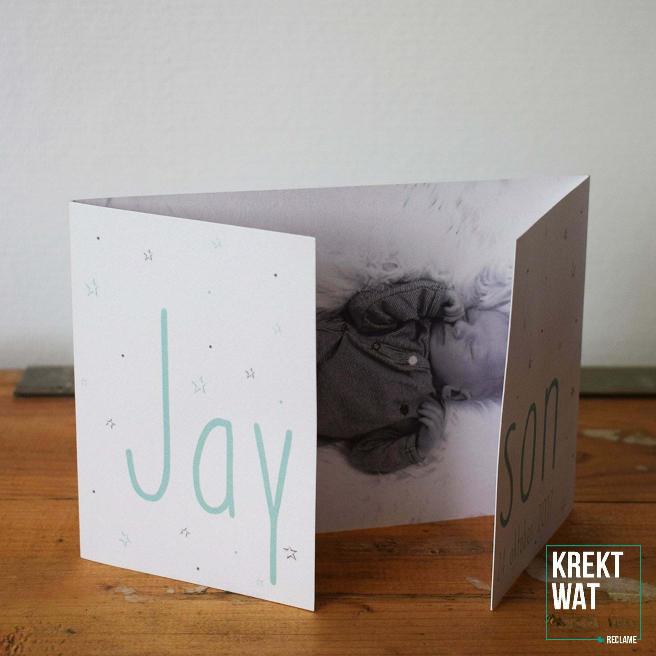 Geboortekaartje - Jayson