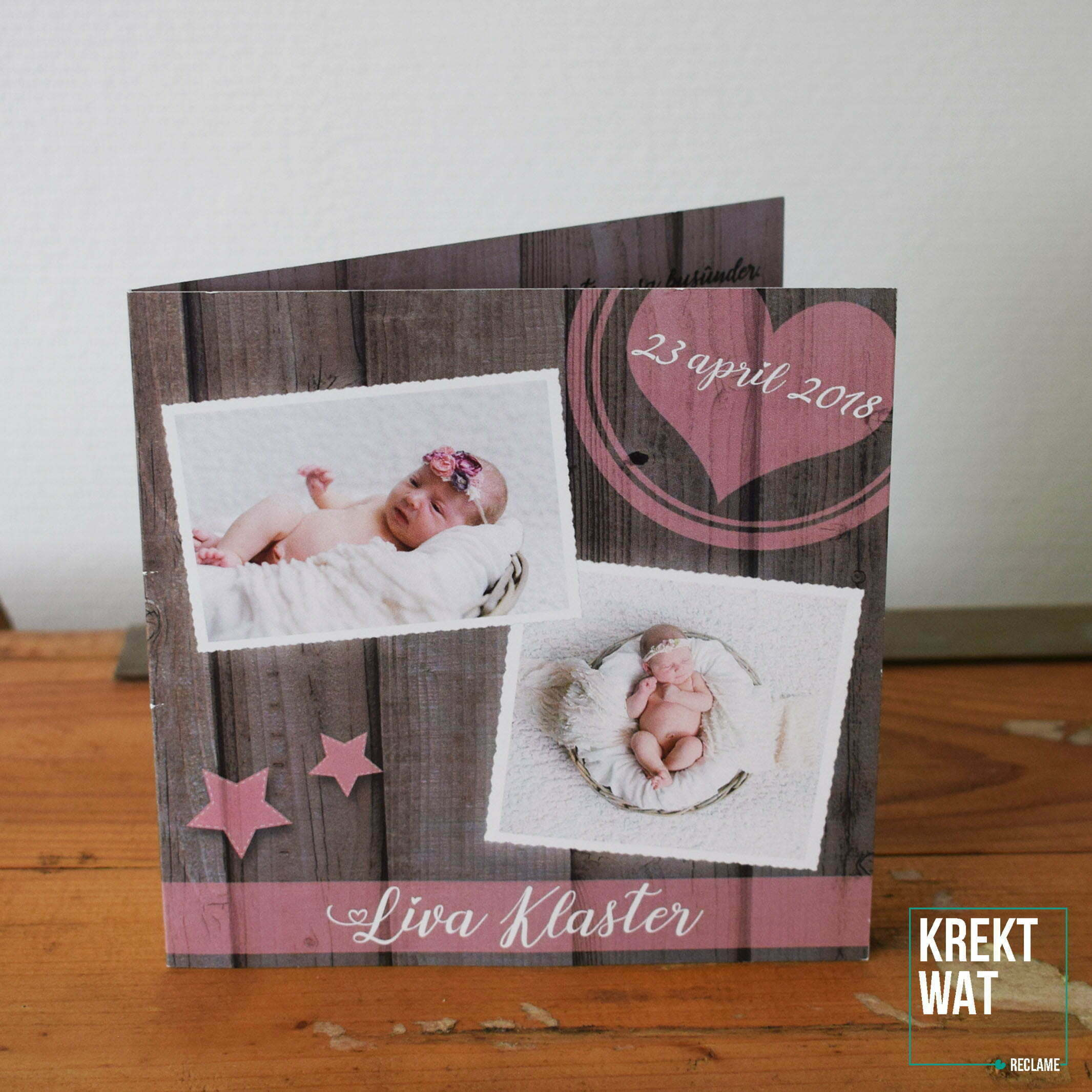Geboortekaartje - Liva